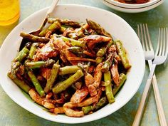 Get Asparagus and Chicken Stir-fry Recipe from Food Network