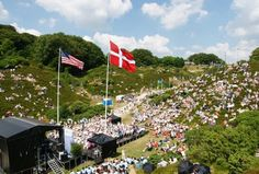 Few Americans know that our Independence Day is celebrated at Rebild Bakker, a national park in Denmark, every 4th of July