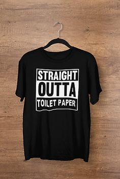 Super Soft Cotton Tee FUNNY Straight Outta COLLEGE Hip Hop parody T-SHIRT