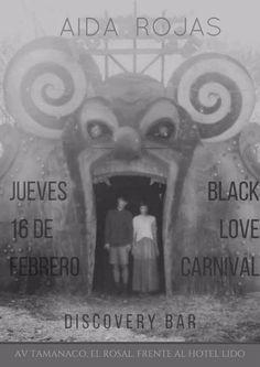 """Black Love Carnival"" con Aida Rojas en Discovery Bar http://crestametalica.com/black-love-carnival-con-aida-rojas-en-discovery-bar/ vía @crestametalica"