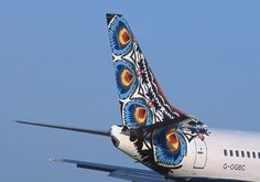 British Airways B737, Poland (Koguty Lowickie) World Art tailfin