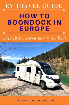 How to Boondock in Europe? Travelling Europe by RV or van? Want to know how to find the best places to camp for free? Or where it's legal? Road Trip On A Budget, Road Trip Packing, Road Trip Essentials, Road Trip Hacks, Road Trips, Camping Europe, Road Trip Europe, Travelling Europe, Traveling