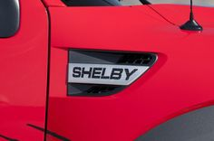 Here is the latest pickup truck endeavor from Shelby -- the Ford Shelby SVT Raptor. This is the first time Shelby has designed a full package for the Raptor. Raptor Truck, Svt Raptor, F150 Truck, Ford Trucks, Ford Shelby, Shelby Gt500, Ford Svt, Shelby Raptor, American Pickup Trucks
