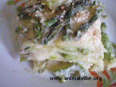 Crespelle con asparagi e zucchine
