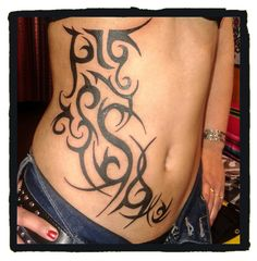 #Tribal #Tattoo #FreeHand #Style