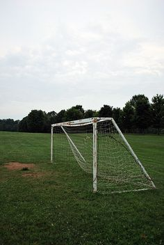 A soccer goal. Same one as seen in tangle     Want to hit your goals?  Wish you could use your time more effectively?  Check out http://simonphillips.net/mastering-time-online-course/