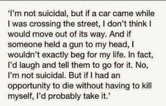 The sad truth of my life