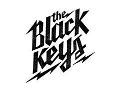 The Black Keys Logo. Again, I don't know what it is or what it represents, haha. The design is worth remembering. The Bolt?