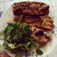 Merci @lilisvegankitchen #paindépices #vegan et #glutenfree #rillettes de #châtaignes aux noix