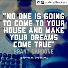 The only person that can make YOUR dreams come true is YOU! What's your plan?  Redd Ladys Inc.  www.reddladys.com  #CuttingTheFatMinistries #CookingTherapy #Empowerment #Encouragement #BeALADY #BeALADYSMan #LoveAndDesireYourself #GoodMorning #IAmReDD #IAmReDDProject ------------------------------------------ #Repost @addicted2success with @repostapp  @grantcardone hustled on his birthday to make his dream come true! What did you today to come closer to your dream?