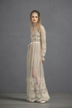 Almond Arabesque Dress   BHLDN