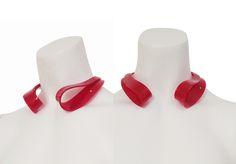 Ex Ovo red acrylic with diamond necklace www.exovo.com Diamond, Rings, Red, Jewelry, Decor, Jewlery, Decoration, Bijoux, Jewerly