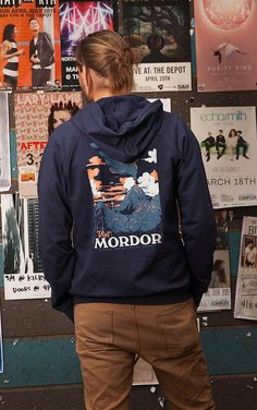 """Visit Mordor"" by Threadless artist Mathiole / available on hoodies, tshirts, phone cases and wall art"