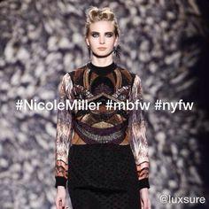 ▶ Nicole Miller #mbfw #nyfw - http://flipagram.com/f/97WmYLHymf