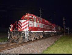 RailPictures.Net Photo: WSOR 4001 Wisconsin & Southern EMD SD40-2 at Waukesha, Wisconsin by Robby Gragg