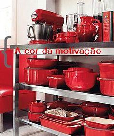 Força e vitalidade na decoração: aposte no vermelho! ~ Casa Comida e Roupa de Marca.