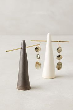 Glazed Ceramic Ring Cone - anthropologie.com
