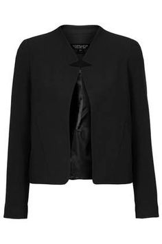 Crop Jacket with Notch Detail - New In This Week  - New In