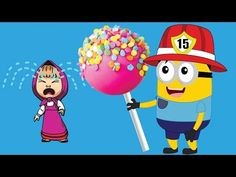 Dora And Masha Paw Patrol Birthday Candy Finger Family Nursery Rhymes - YouTube