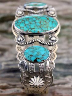 Vintage Navajo Old Pawn # 8 Turquoise Cuff Bracelet: Removed - Native . - Vintage Navajo Old Pawn # 8 Turquoise Cuff Bracelet: Removed – Native American Hallmarks Ol - Turquoise Cuff, Vintage Turquoise, Turquoise Jewelry, Turquoise Bracelet, Silver Jewelry, Vintage Jewelry, Navajo Jewelry, Southwest Jewelry, Hippie Jewelry
