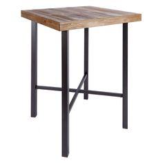 Silverwood Products Fowler Industrial Pub Table - FD1055-COM