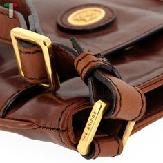 VITACCI Mens Pure Genuine Jean Leather Belt Single Buckle