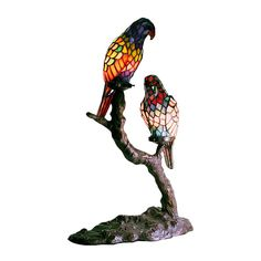 Exotic Birds Table Lamp