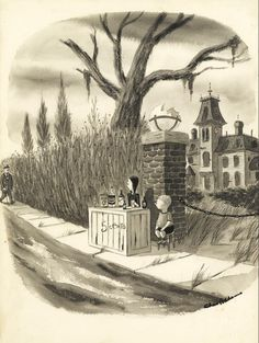 """""""Monster Rally"""" by Charles Addams"""