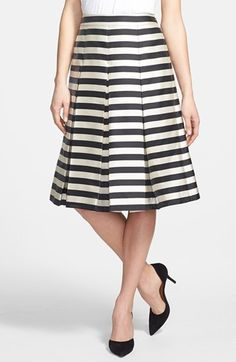 Striped Midi for Spring? Heck yes.