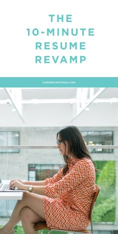Under normal circumstances, we'd recommend carving out a weekend to go through the process of updating and sprucing your resume. But what if the inspiration to update comes from seeing your ideal job listed, and you need to apply ASAP? Cue the 10-minute resume hack, the working woman's answer to a looming deadline. Click to see all of our quick edit resume tips! | CareerContessa.com
