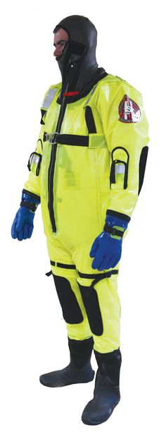 Firstwatch RS-1000 Rescue Suit: Rescue professionals need gear that allows them to respond safely and quickly to emergency situations. The RS-1000 is engineered to don quickly for cold water and ice rescue operations. Universal fit suit features a rugged hi-tenacity nylon shell that is stitched and taped for the ultimate durability. Snap out nylon/foam liner allows the user to easily slip the suit on and off. Designed to meet the safety, mobility and comfort needs of rescue professionals.