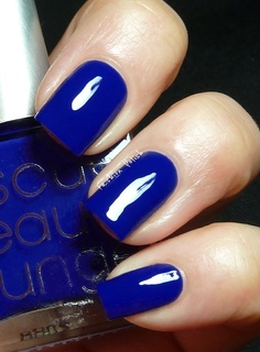 Will be rocking this colour for winter!  Rescue Beauty Lounge IKB:2012  (IKB = International Klein Blue)