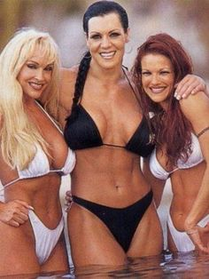 Debra, Chyna and Lita back in the good old days