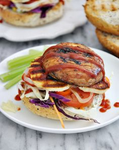 Grilled Portobello Mushroom & Haloumi Burgers Recipe-15 Irresistible Sandwich Recipes