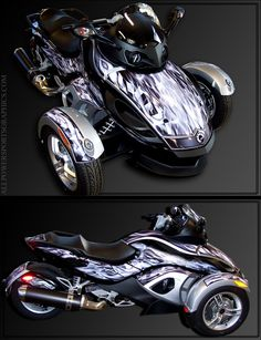 spyder Can Am Spyder, Trike Motorcycle, 4 Wheelers, Future Car, T Rex, Cool Bikes, Hot Cars, Ducati, Cool Toys