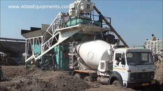 Concrete mixer machine | Batch plant manufacturers Atlas Equipments, India.  #ConcretePlant #ConcreteBatchingPlants #ConcreteBatchPlant #EquipmentManufacturer