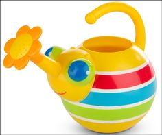 Kids friendly Bug Watering Can by Melissa & Doug that develops watering the garden habit costs £9.49 at Tumble Tots.