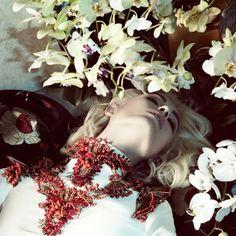 Nadja Bender for Vogue Japan April 2013 by Camilla Akrans