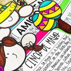Cinco De Mayo Activity / Fiesta Writing Craftivity Asl Letters, Letters And Numbers, Bulletin Board Display, Cool Writing, Teaching Ideas, Fun, Fiestas, Lol, Funny