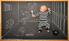The Chalkboard Adventures of a Newborn Baby