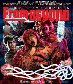 From Beyond Retro Scream Factory Cover Art