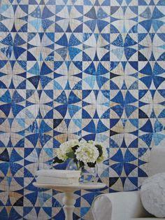 winding ways quilt pattern | WAY AROUND WINDING WAYS - Marty Hammer