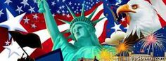 4th july collage Facebook Cover