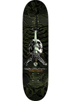 Powell-Peralta Ray-Rodriguez-Skull-&-Sword-Popsicle - titus-shop.com  #Deck #Skateboard #titus #titusskateshop