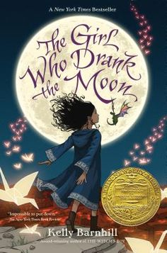 The Girl Who Drank the Moon by Kelly Barnhill  https://soundcloud.com/siriusxmentertainment/the-book-report-with-jarrett-j-krosoczka-january-24th-2017-newbery-caldecott-winners?in=siriusxmentertainment/sets/kids-place-live