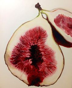 Figs, oil painting / EY Choi