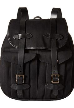 Filson Rucksack (Black) Backpack Bags - Filson, Rucksack, 11070262, Bags and Luggage Backpack, Backpack, Bag, Bags and Luggage, Gift, - Fashion Ideas To Inspire