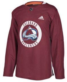 Adidas Men S Colorado Avalanche Authentic Pro Practice Jersey 1b363b9237b0b