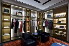 The new Fendi boutique inaugurated at the Galaxy Mall in Macau