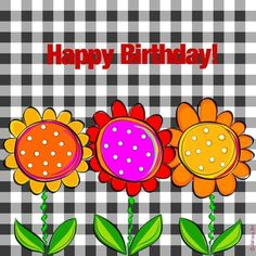 Happy Birthday - by Adriana Art - Birthday Msgs, Happy 11th Birthday, Birthday Wishes Greetings, Birthday Wishes For Kids, Happy Birthday Flower, Birthday Clipart, Birthday Blessings, Birthday Wishes Quotes, Happy Birthday Messages